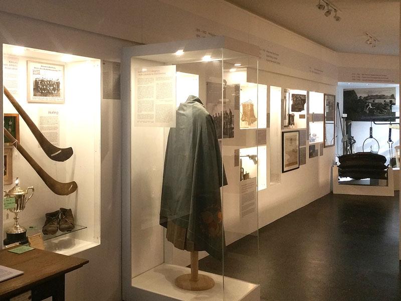 Custom-built museum cases